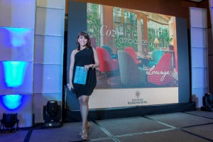 Event host Ms. Gelli Victor