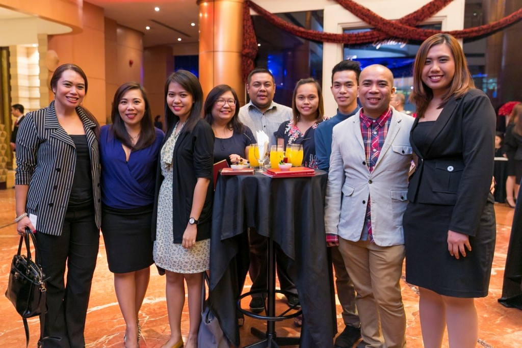 (L-R) Gel Bayona of Travelife Magazine; Annie Dioso of Prestige Hotels and Resorts; Sherry Ann Devera of View Magazine; Maggie Silvestre, Dino Datu, Maribel Avelis, Michael Pituc and Marlon Aldenese of Cook Magazine; Danica Aninao of Eastwood Richmonde Hotel