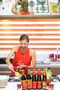 Suzi Abrera enjoys cooking with Lee Kum Kee