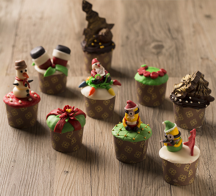 A selection of pastries to brighten the season