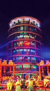 An open house celebration of the Leaning Tower in Teluk, Intan Penak during the celebration of the Chinese New Year.