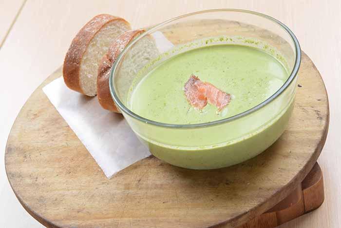 Lombardis - Crema di Spinaci con Salmone