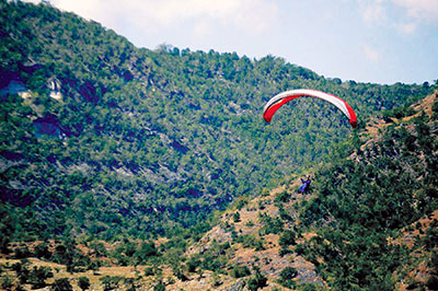 Paragliding in Maasim photo courtesy by Sarangani Paraglide