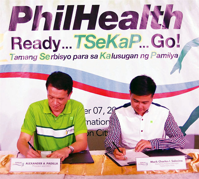 PhilHealth Tupperware photo
