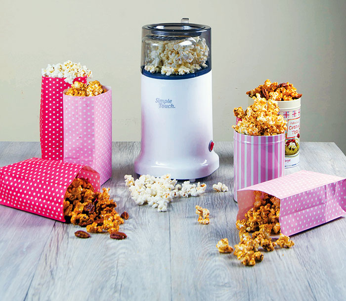 Simple Touch Popcorn Maker