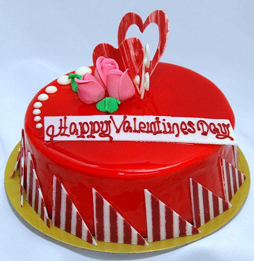 Valentine Cake - Soft Baked Cheese Cake