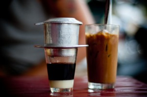 Vietnamese Cofee also called Caphe Da