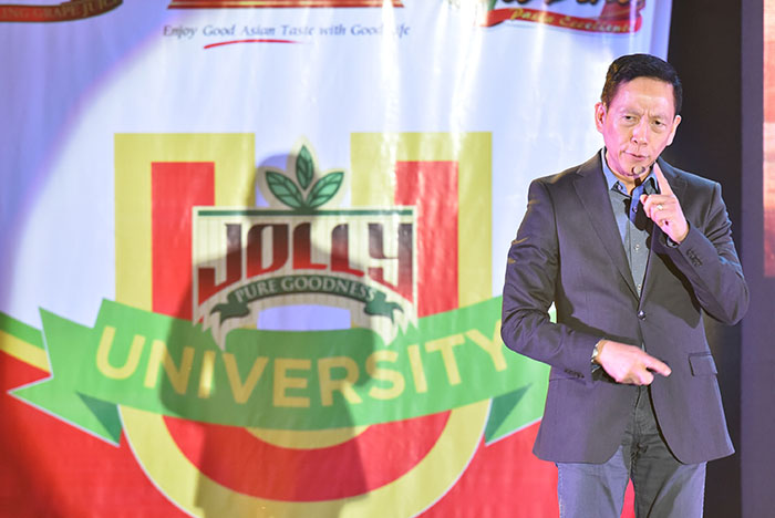 JOLLY University Food Congress speaker, Francis Kong on Developing Your Competitive Edge.