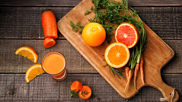 Orange Carrot Juice