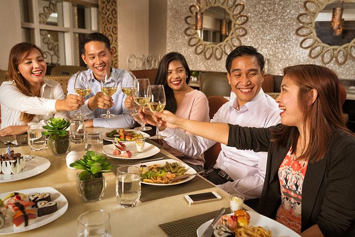 Celebrations at Richmonde Café's Feast on Friday