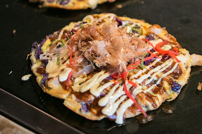 Nobu Manila.9.freshly prepared Onomiyaki at the Sunday brunch