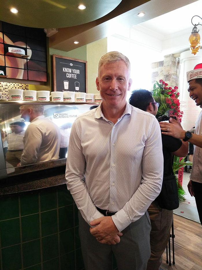 Krispy Kreme Doughnut Corporation's Senior Director for International Steve Avery