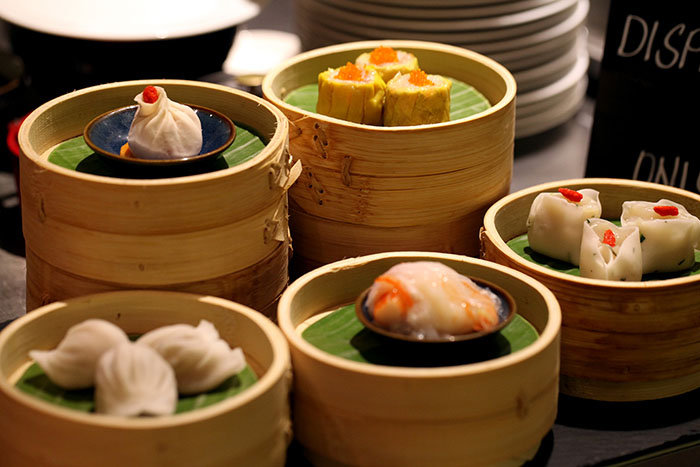 Assorted Cantonese Dimsum at The Cafe