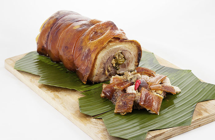 Cebu Lechon at The Sails restaurant
