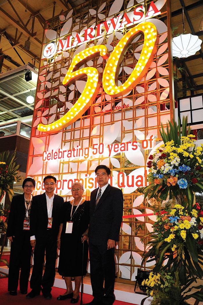 Mariwasa 50 Years