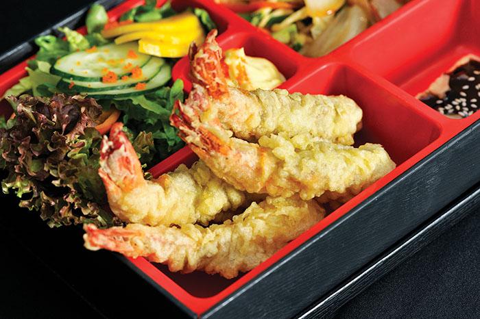 tempura bento