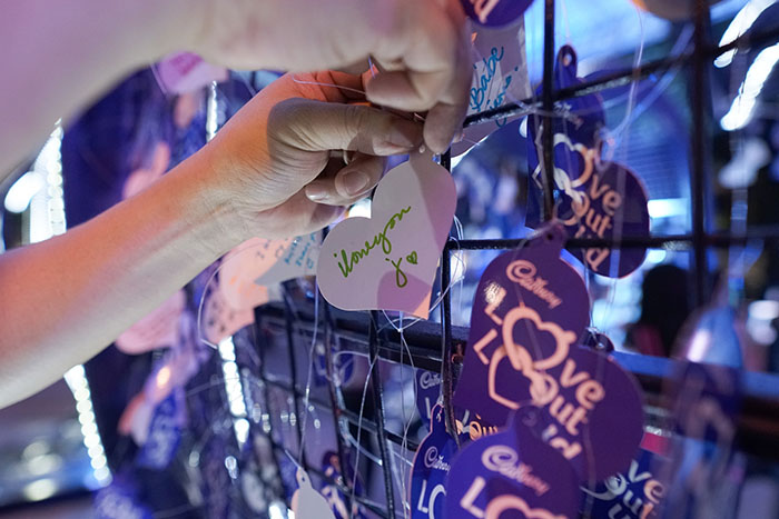 Toblerone And Cadbury Own Valentine S Day With Love Filled