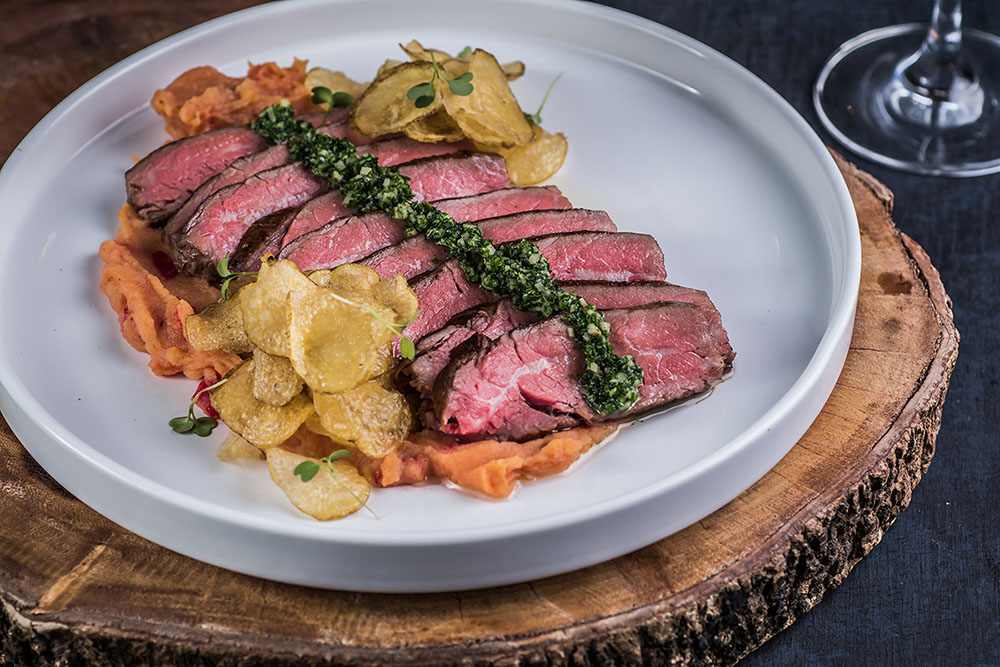 Cast Iron Flank Steak
