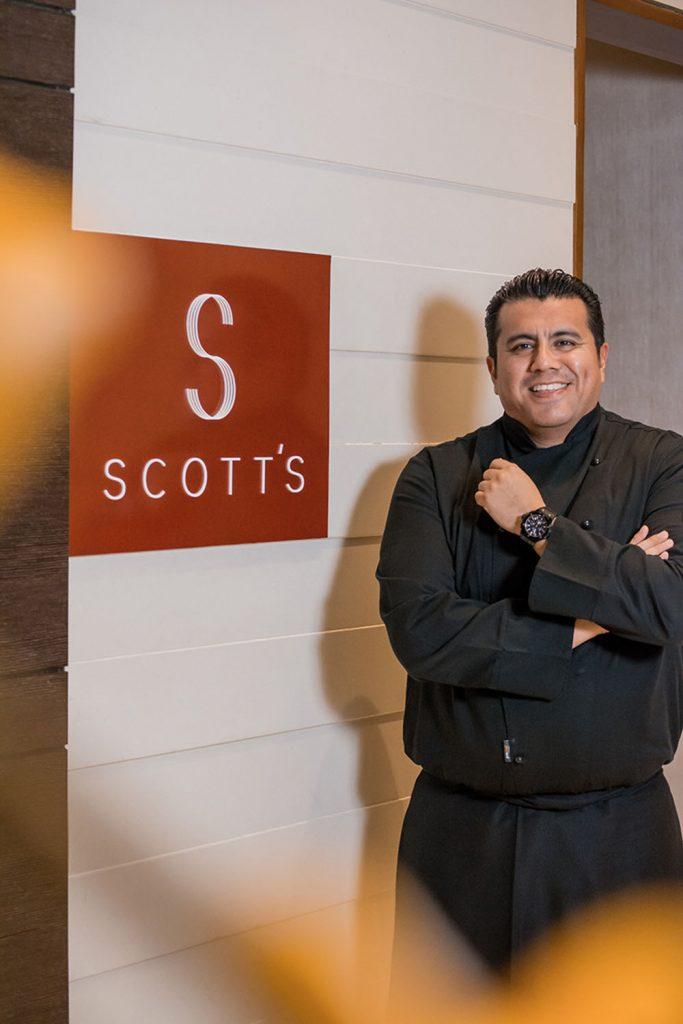 Scott's Executive Chef Johnny Rodriguez