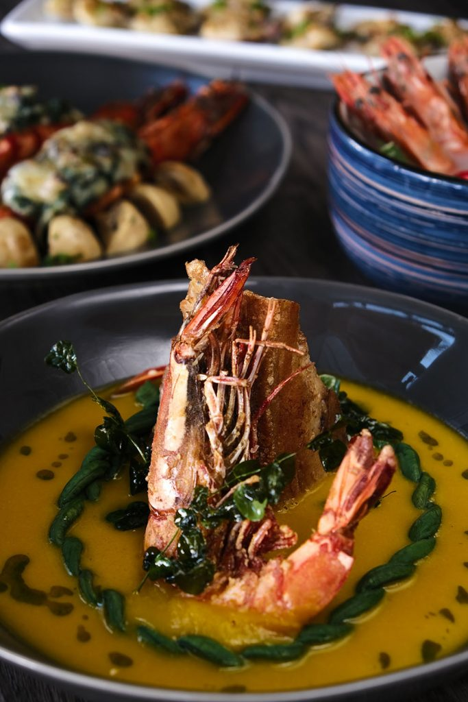 Savor the bolder & better dishes of Richmonde's new a la carte menus  at The Granary, BizBar, and Zabana Bar
