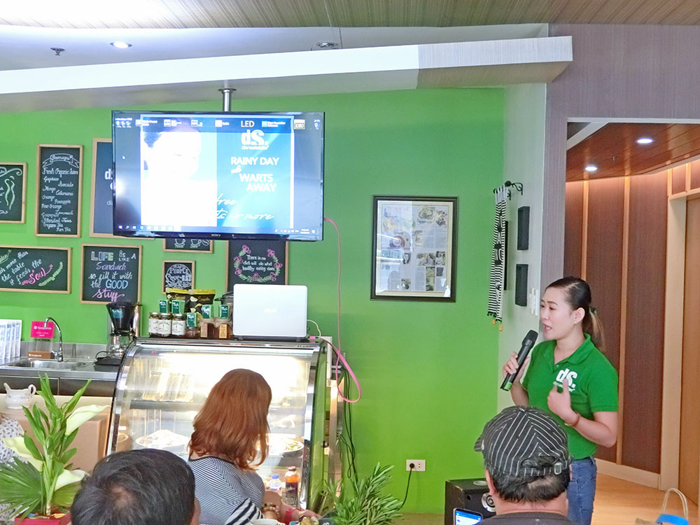 Diana Stalder Operations Manager Romavic Leonen talks about their July promo