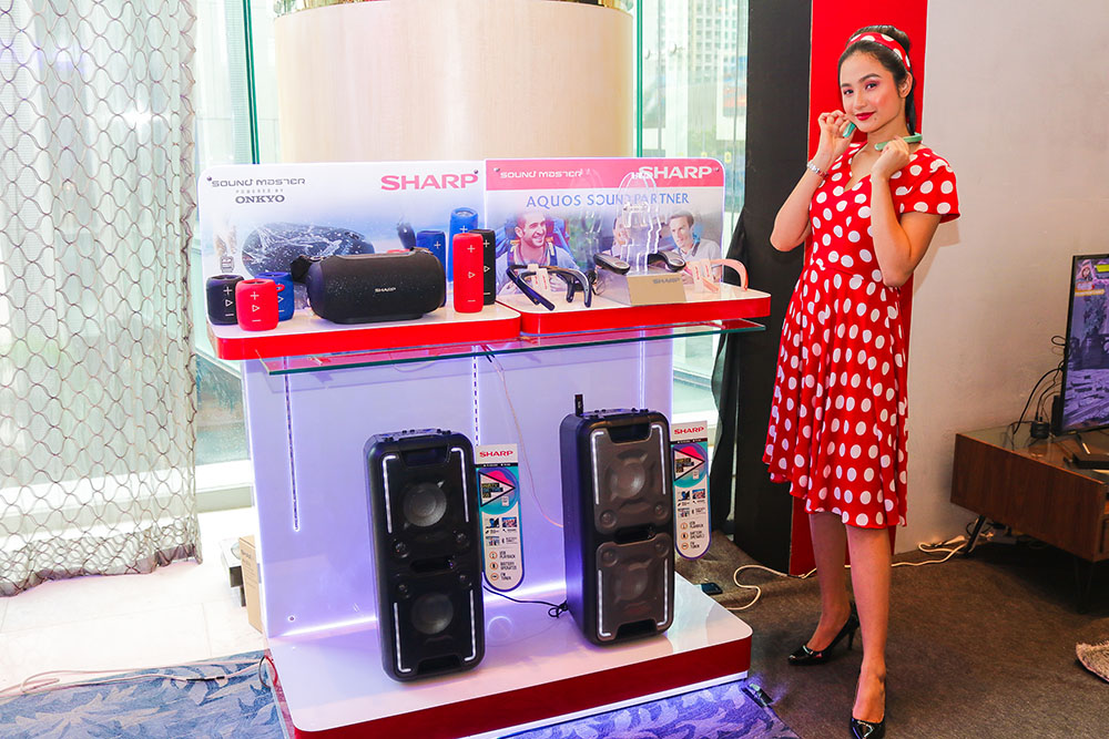 Sharp Philipines proudly offers newest audio category which expands customers' viewing experience with AQUOS Sound Partner copy