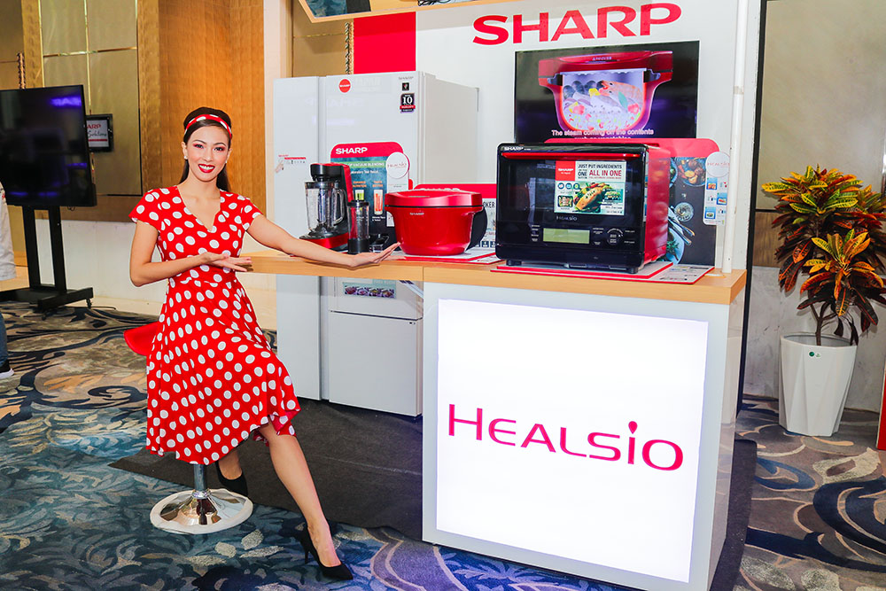 Sharp Philippines introduced Healsio Hotcook which is an automatic cooker promoting healthy cooking copy
