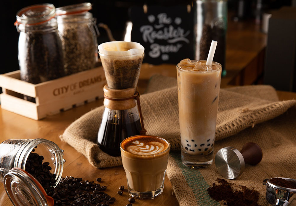 Philippine gourmet coffee creations at The Garage's The Roaster