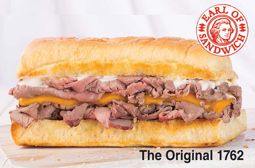THE ORIGINAL 1762® Roasted beef, cheddar, and horseradish sauce