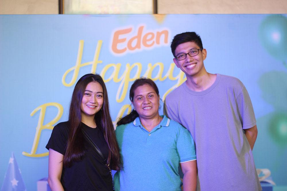 Kristen Mendoza - Brand Manager, Marietta Tolentino, Raf Baradas - Asst. Brand Manager copy