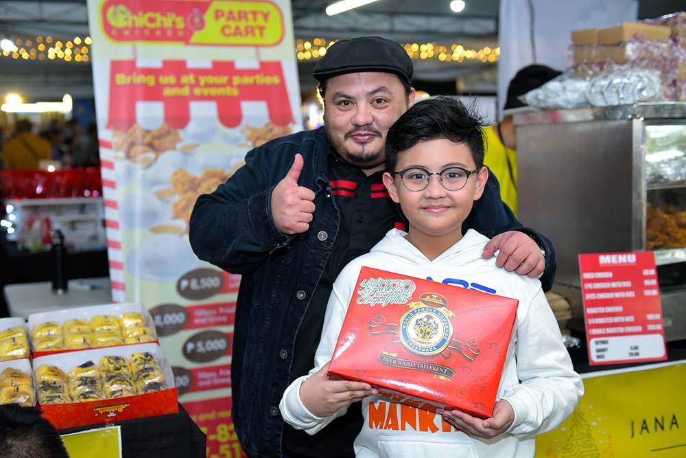 Niño Muhlach and son Alonzo