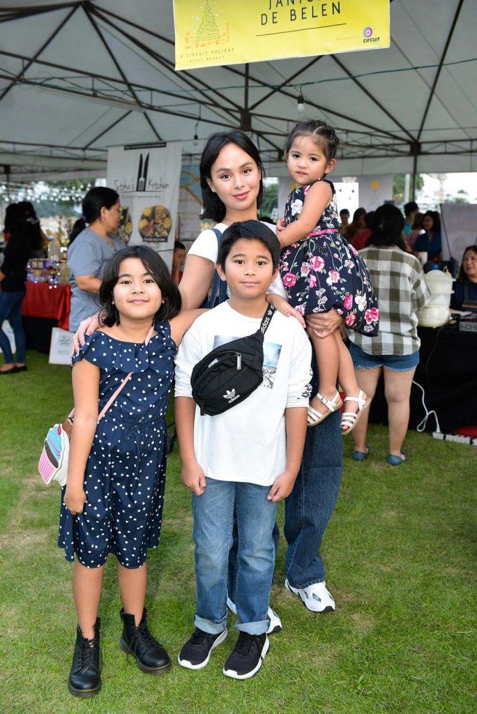 Kaila Estrada with siblings Adrianna, Alejandro and Anya