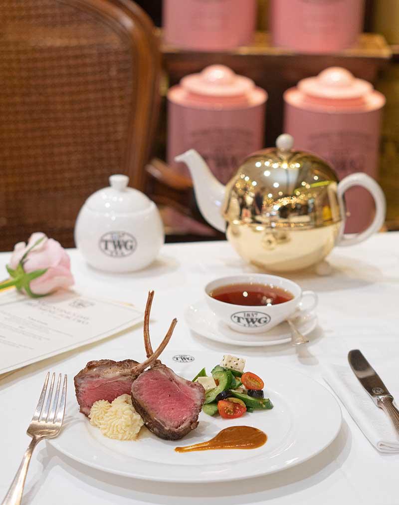 Valentine's Day Set Menu Main Course - Lamb Chops