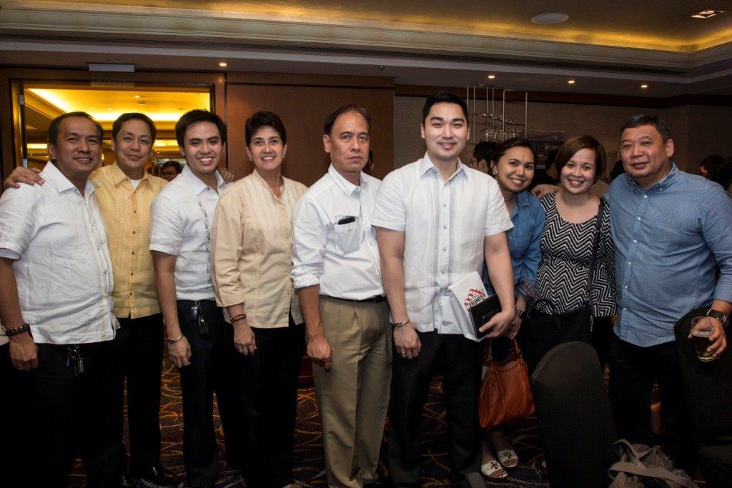 Errol Pangilinan, Fe Abane, Adel Mendoza and the Pediatrica team