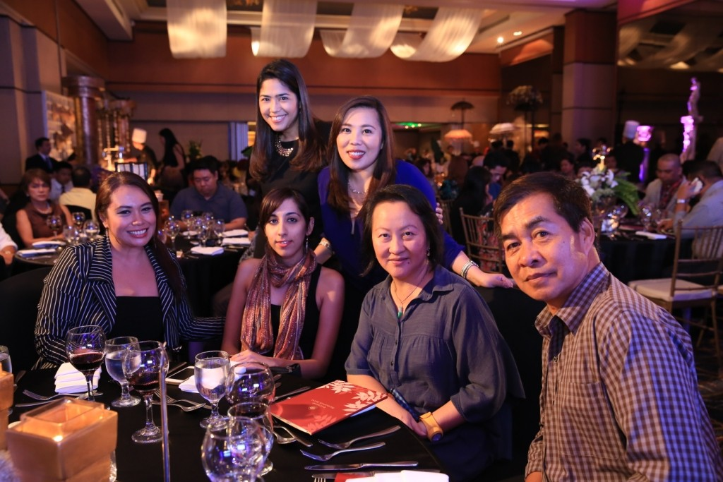 (L-R, top) Eastwood Richmonde Hotel Director of Sales Chabs Chipeco, Prestige Hotels & Resorts Director of Communications Annie Dioso; (L-R, bottom) Gel Bayona of Travelife, Anjali Andwani, Dolly Dy-Zulueta and Raffy Zulueta of flavorsoflife.com