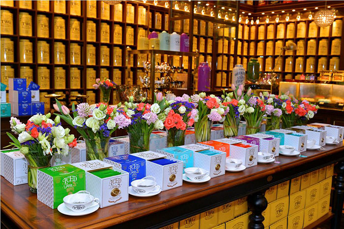 TWG Tea is launches the world's most luxurious collection of teabags especially crafted for the preparation of iced teas.