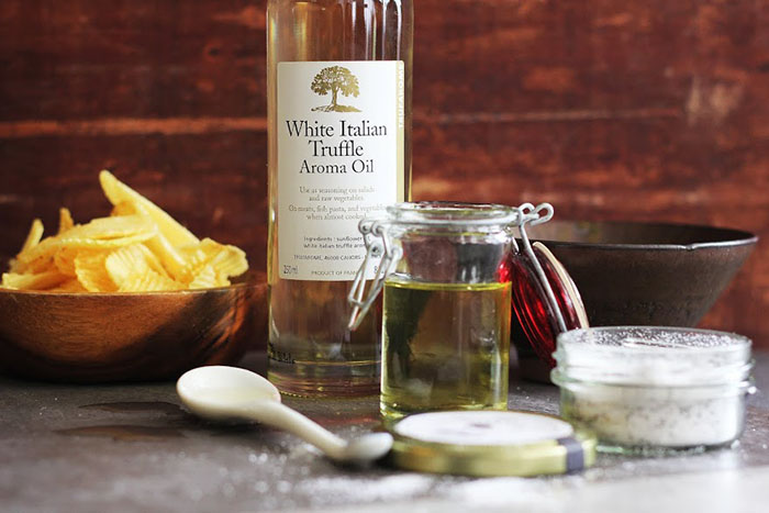 Imported Truffle Oil and Salt by Bettina Osmena of Gourmet Corner