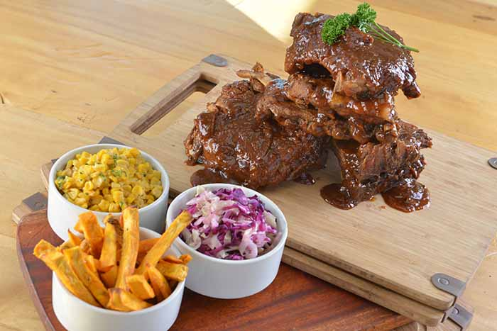 B and P - Unlimited Ribs with Choice of One Side 002