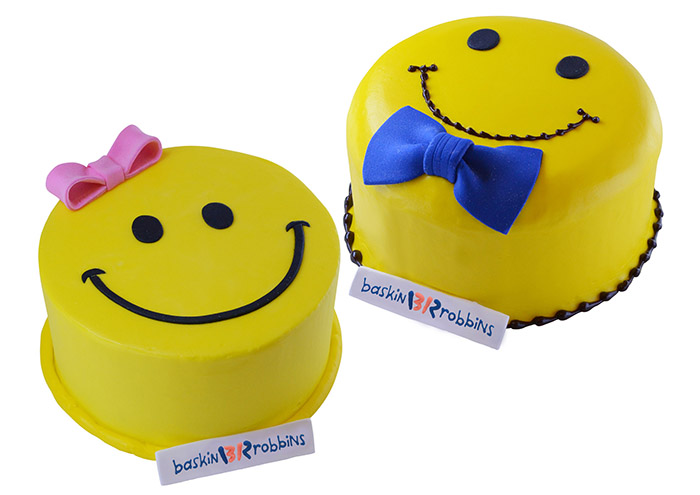 Another way to participate is by buying the Baskin-Robbins special Smiley Cake – 20% of the cake sales will also go towards the campaign.