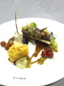 Chef Kerwin Funtanilla_s silver award-winning entry   Campfire - Short Ribs