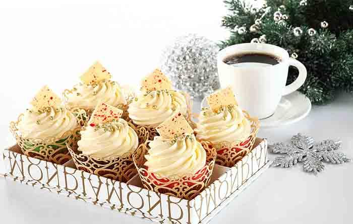 Diamond Hotel Christmas Cupcakes