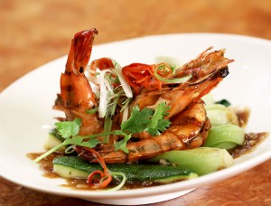 ERH Executive Meal - Grilled Prawns
