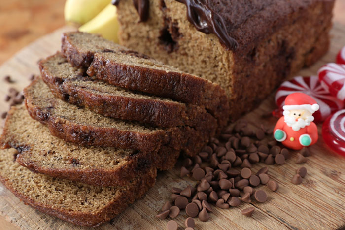Banana Choco Chip Bread, PhP 200/loaf
