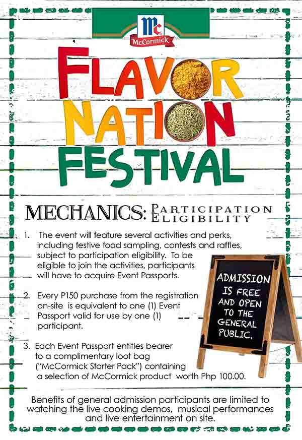 Flavor Nation Mechanics