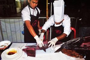 Fresh Tuna caught from Sarangani Bay