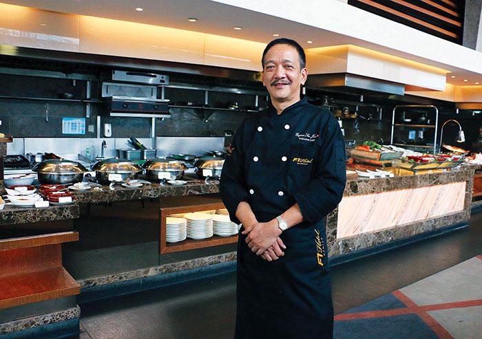 The new Executive Chef of F1 Hotel Manila, Chef Eugene San Juan