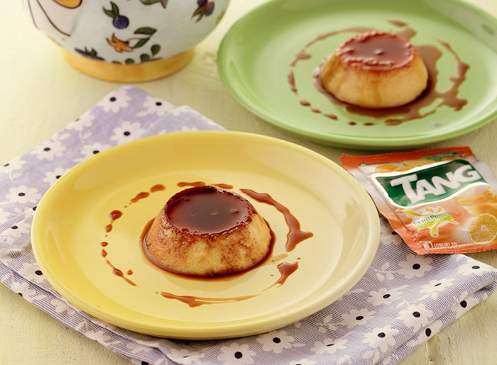 Leche Flan with Tang