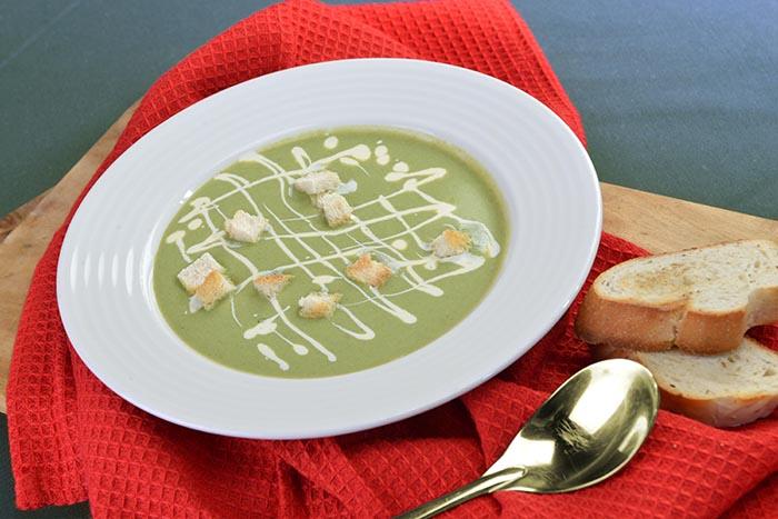 Creamy Spinach and Potato Soup