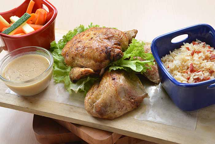 Lombardis - Pollo Arrosto con Salsa al Limone e    Rosemary