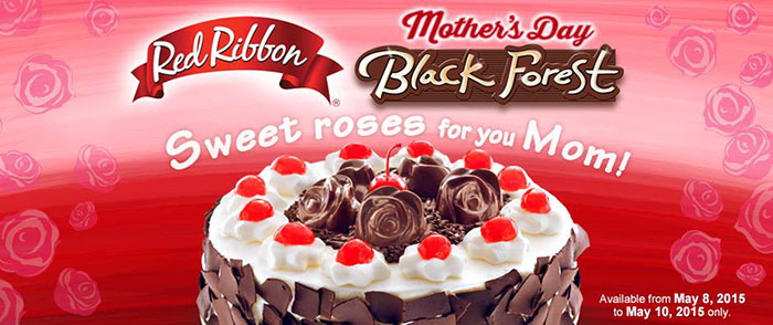 Red Ribbon Mother's Day Black Forrest